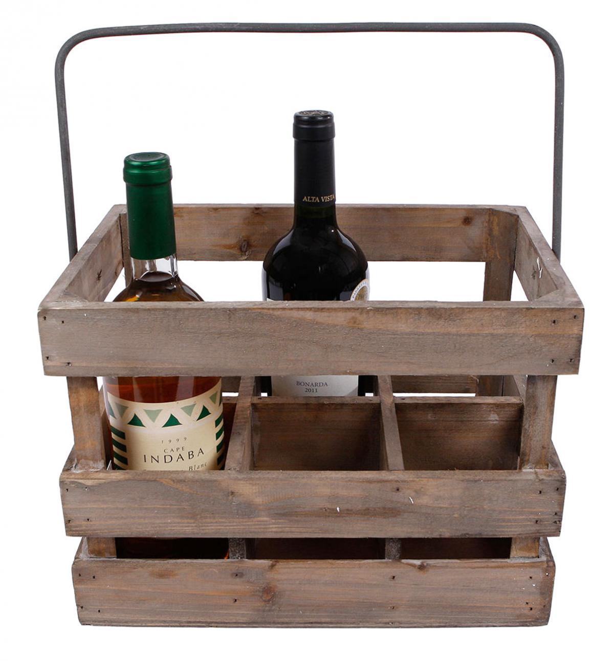 Preissturz Weinkiste Aus Holz Weintrager Geschenk Fur